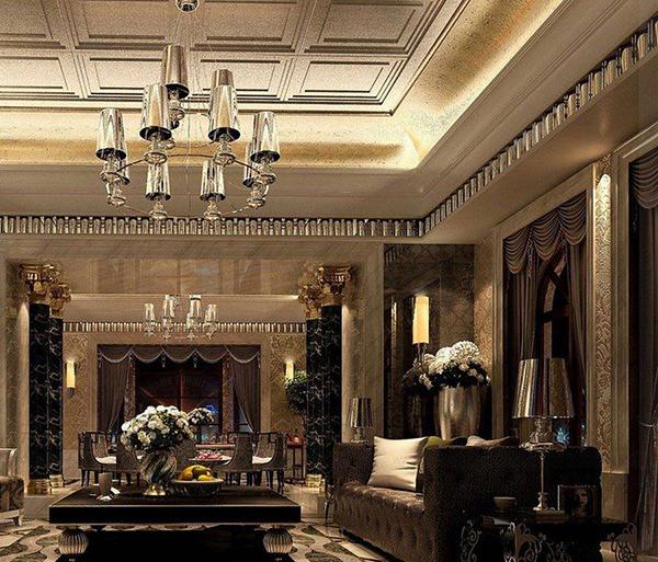 Những mẫu thiết kế nội thất biệt thự cổ điển đẹp, ai cũng mê mẩn 4