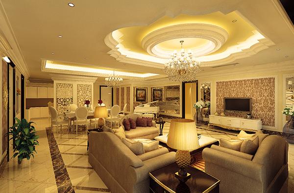 Những mẫu thiết kế nội thất biệt thự cổ điển đẹp, ai cũng mê mẩn 1