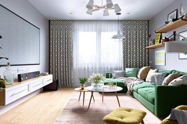 Thiết kế nội thất chung cư giá rẻ phong cách Bắc Âu