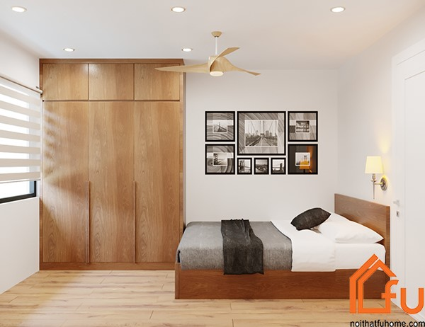 thiết kế phòng ngủ phụ 1 nội thất phòng khách nhà anh chị nhung thắng
