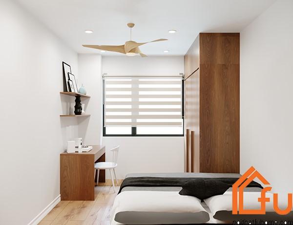 thiết kế phòng ngủ phụ 1 nội thất phòng khách nhà anh chị nhung thắng 1