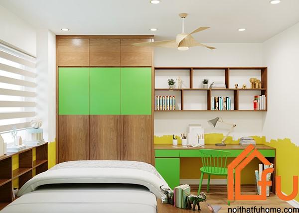 thiết kế phòng ngủ phụ 2 nội thất phòng khách nhà anh chị nhung thắng