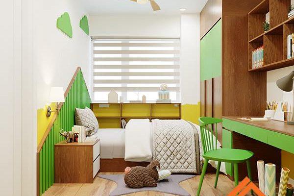 Thiết kế phòng ngủ chung cư đẹp dựa trên diện tích thực tế 2
