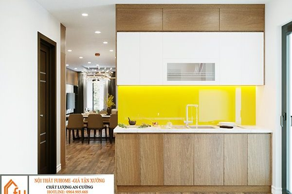 Một số mẫu thiết kế bếp chung cư đẹp, tiện nghi 7