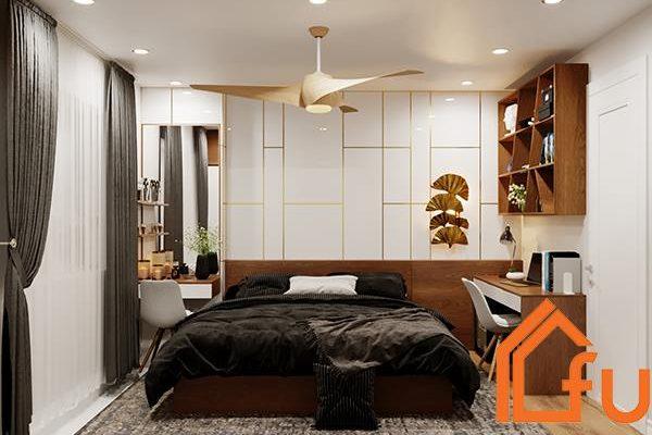 Thiết kế phòng ngủ chung cư đẹp dựa trên diện tích thực tế