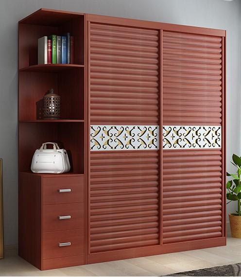 Gỗ MFC được ứng dụng làm tủ quần áo cho phòng ngủ