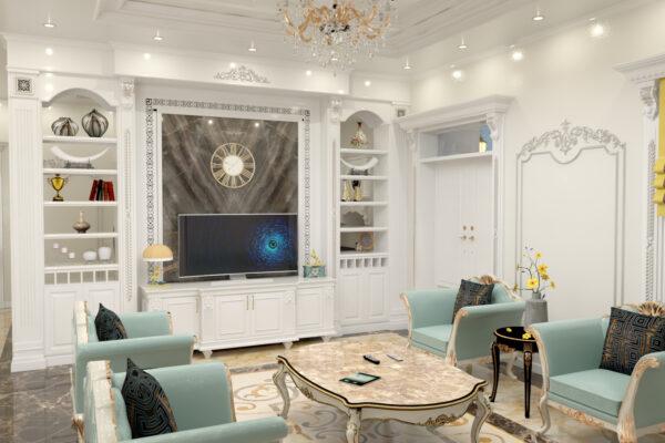 Những mẫu thiết kế nội thất chung cư 90m2 đẹp và tiện nghi 2