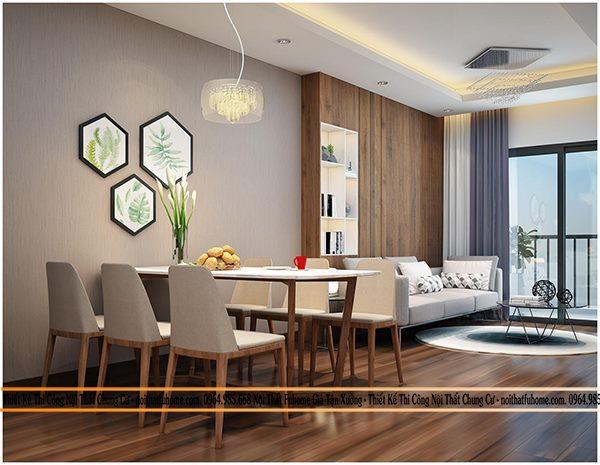 Lưu ý khi thiết kế nội thất phòng khách chung cư 70m2