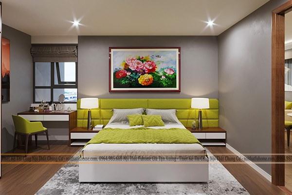 Thiết kế thi công nội thất phòng ngủ theo phong cách mới