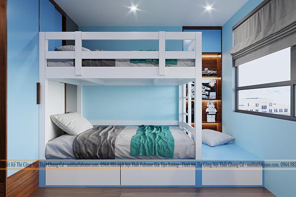 Thi công nội thất chung cư 70m2 Imperia Gadenia – Sắc màu tạo nên vẻ đẹp kì diệu