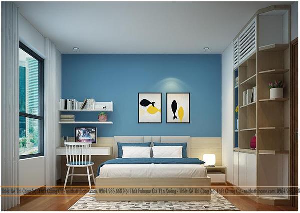 Thiết kế thi công nội thất phòng ngủ của con