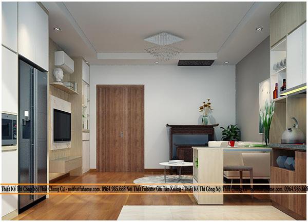 Thiết kế thi công chung cư Tân Hồng Hà – Chủ đầu tư cô Vân