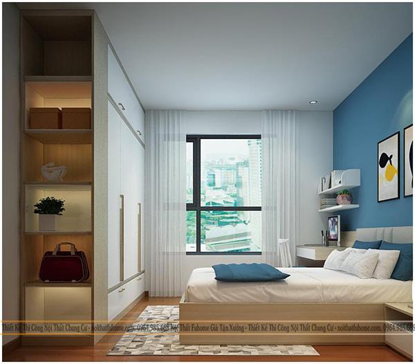 thi công thiết kế nội thất phòng ngủ của con