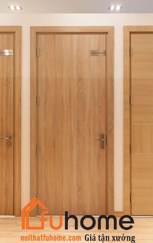 Mẫu cửa gỗ MDF laminate đẹp và sang trọng cho gia đình