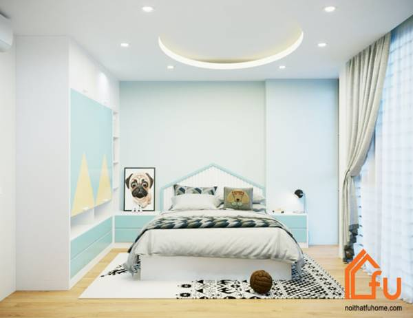 công trình thiết kế và thi công nội thất cao cấp do Fuhome thực hiện 3