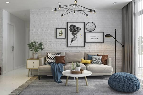 Thiết kế thi công nội thất nhà ở phong cách hiện đại