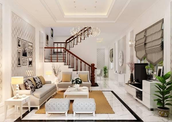 Thiết kế thi công nội thất nhà phố làm thế nào cho đẹp, tiện nghi?