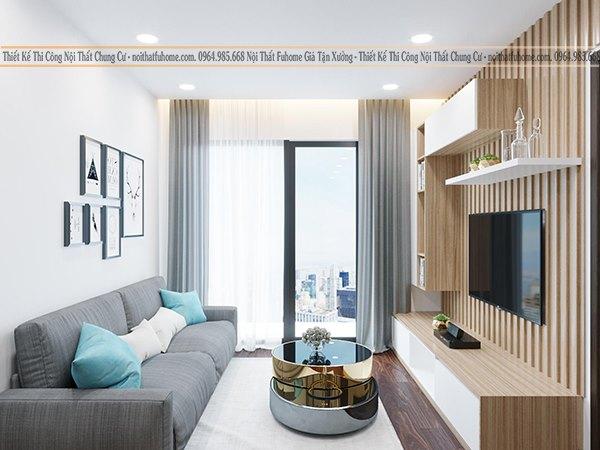 Nội thất phòng khách chung cư nhỏ – Bí quyết để có phòng khách đẹp mắt, ấn tượng