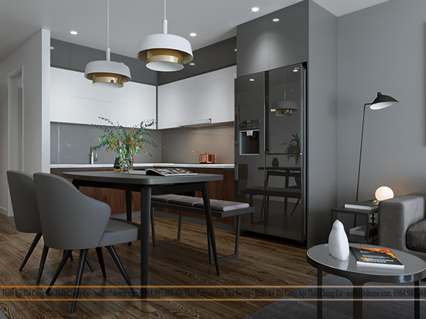 Thiết kế nội thất công trình nhà chị Giang, Tân Mai, Hoàng Mai, Hà Nội 1
