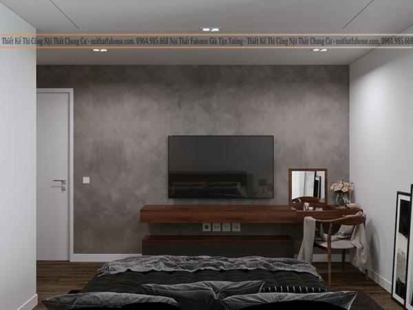 Thiết kế nội thất công trình nhà chị Giang phòng ngủ 2