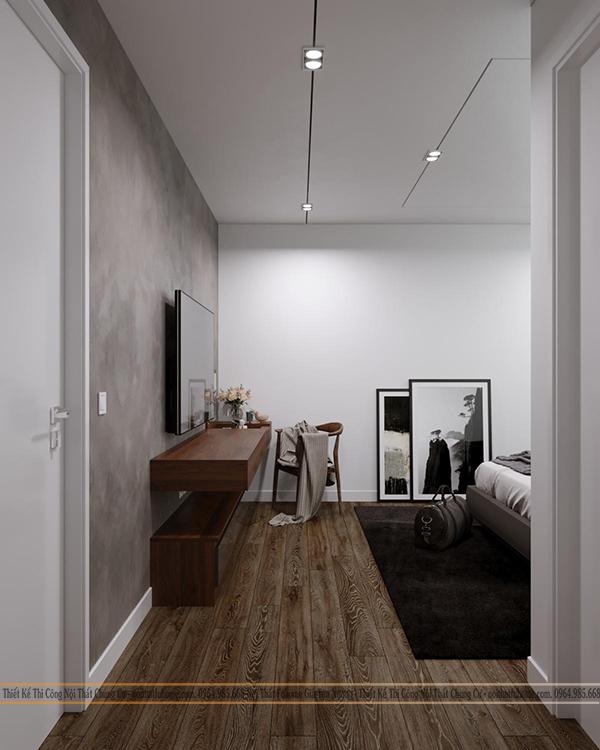 Thiết kế nội thất công trình nhà chị Giang phòng ngủ 1
