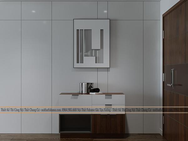 Thiết kế nội thất công trình nhà chị Giang, Tân Mai, Hoàng Mai, Hà Nội 2