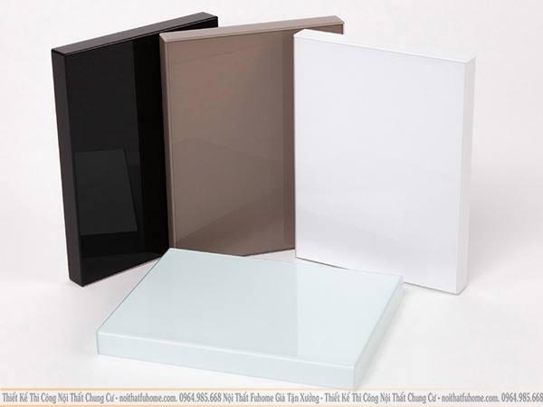 Gỗ acrylic có nhiều ưu điểm nổi bật hơn các sản phầm từ gỗ công nghiệp khác