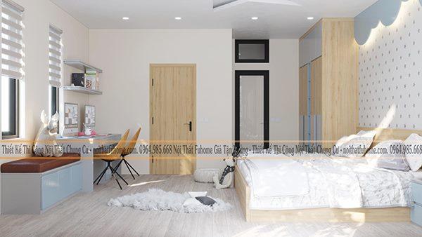 Thiết kế thi công công trình nhà phố Khương Hạ