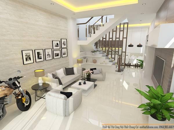Phong thủy nội thất phòng khách là điều đầu tiền của căn nhà khi bạn quyết định thi công nội thất