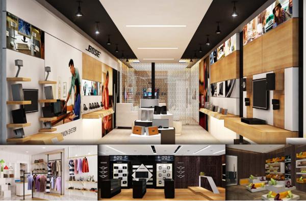 Thiết kế thi công nội thất showroom và những điều cần lưu ý
