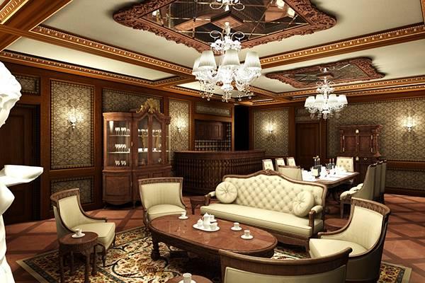 đặc trưng cơ bản nhất của phong cách cổ điển trong thiết kế nội thất