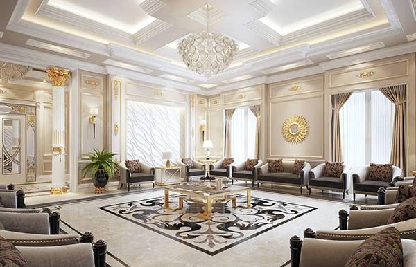 Cần lựa chọn màu sắc phù hợp khi thiết kế nội thất biệt thự