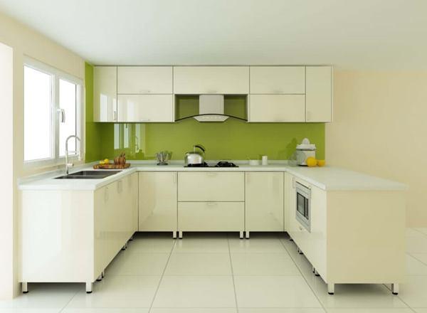 Ứng dụng của ván gỗ công nghiệp Acrylic khi thi công tủ bếp mang đến không gian khác biệt