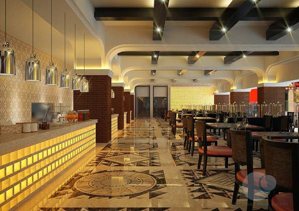 thiết kế thi công nội thất nhà hàng đẹp phong cách mới