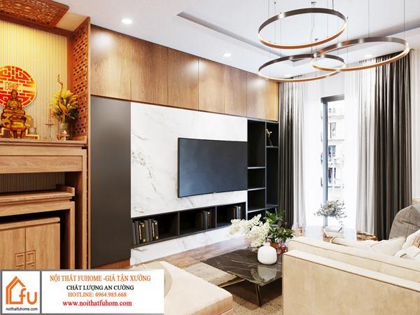 Thiết kế nội thất chung cư phong cách hiện đại – Top 10 thiết kế đẹp, ấn tượng nhất