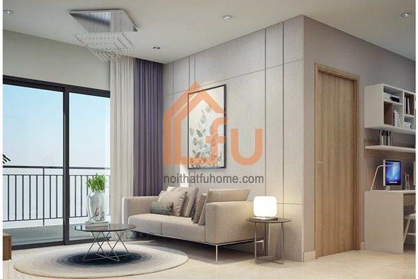 Một số mẫu thiết kế căn hộ chung cư 50m2 đẹp, tiện nghi