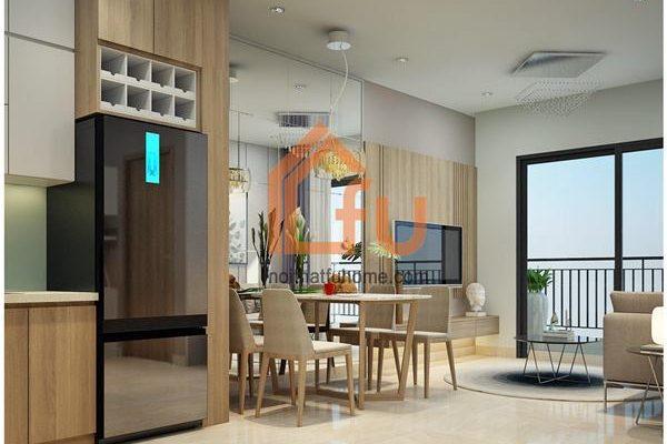 Những cách tối ưu hóa diện tích khi thiết kế căn hộ chung cư 50m2