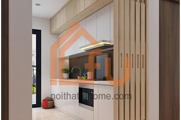 Một số mẫu thiết kế bếp chung cư đẹp, tiện nghi 8