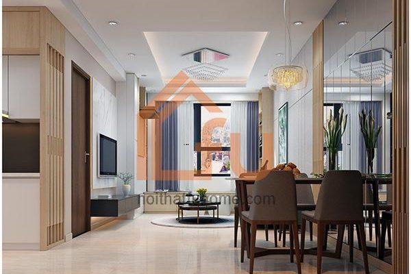 Thiết kế nội thất chung cư 3 phòng ngủ cho không gian sống đẹp và tiện nghi 1