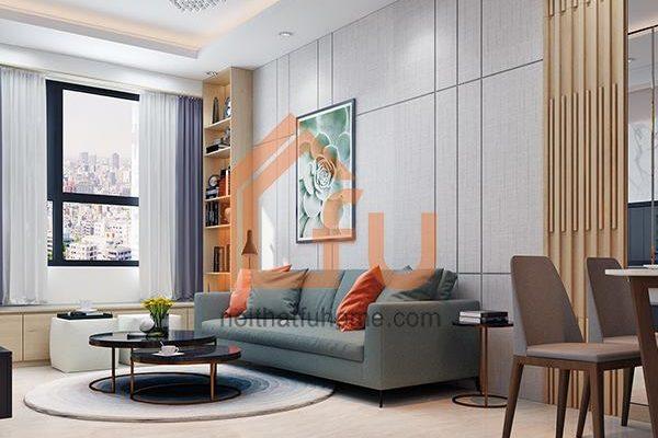 Thiết kế nội thất chung cư 60m2 - Những mẫu nhà đẹp không nên bỏ qua