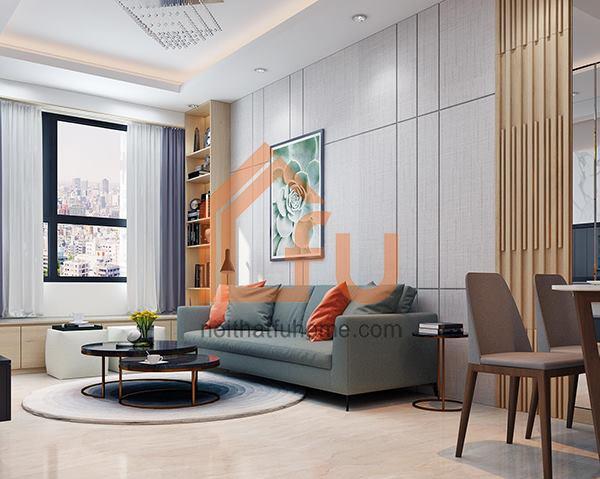 Thiết kế thi công căn hộ anh Ngọc Huy – Tòa nhà VOV Mễ Trì
