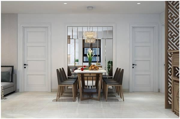 Chi tiết thiết kế nội thất trọn gói căn hộ chung cư của chị Phương 12