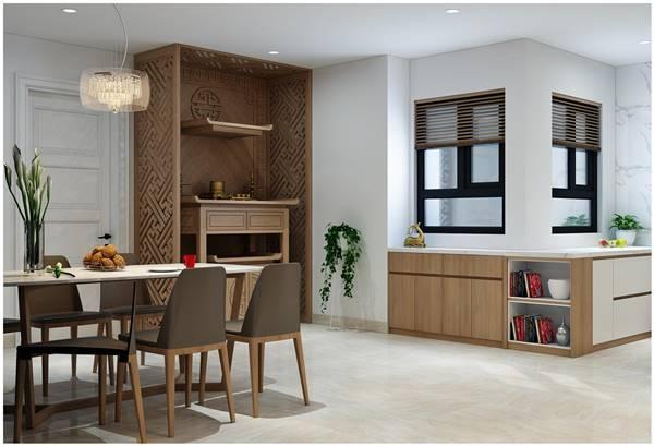 Chi tiết thiết kế nội thất trọn gói căn hộ chung cư của chị Phương 9