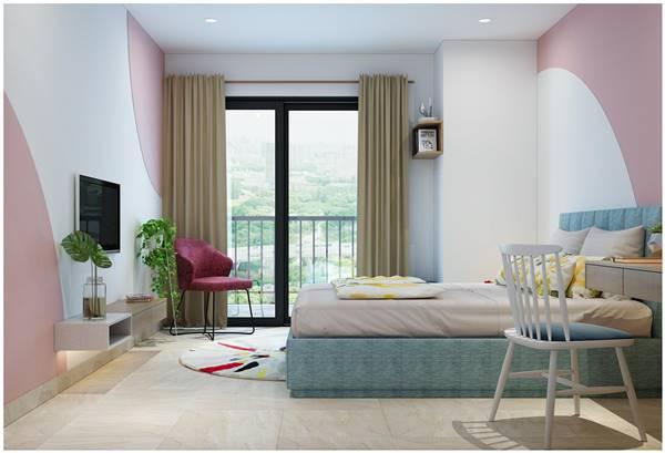 Chi tiết thiết kế nội thất trọn gói căn hộ chung cư của chị Phương 8
