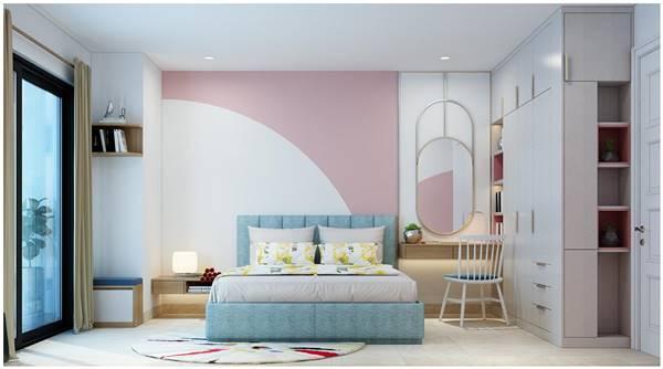 Phong thủy nội thất phòng ngủ với cách bố trí gương