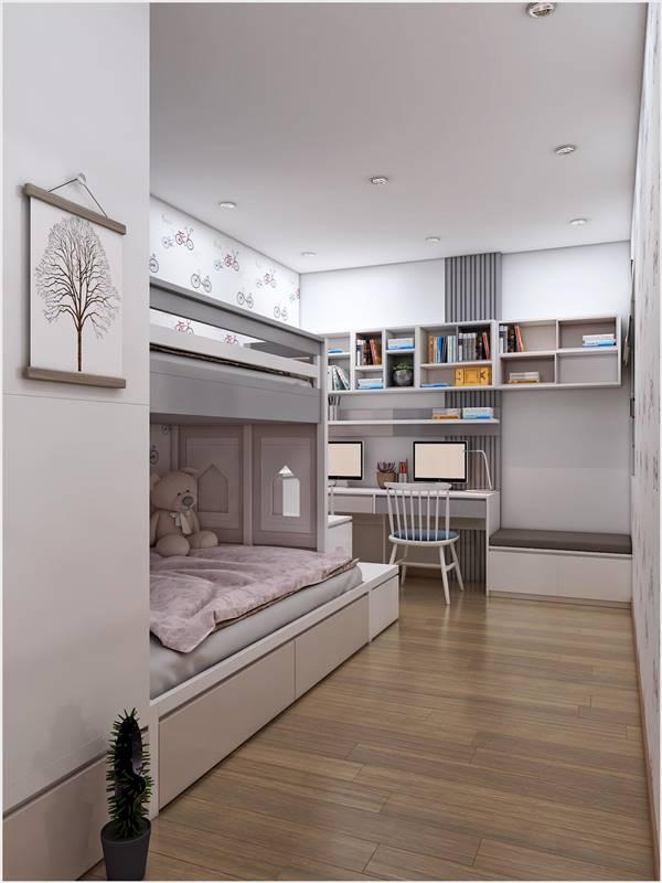 Thiết kế thi công nội thất trọn gói công trình nhà anh Quân Ecopark 6