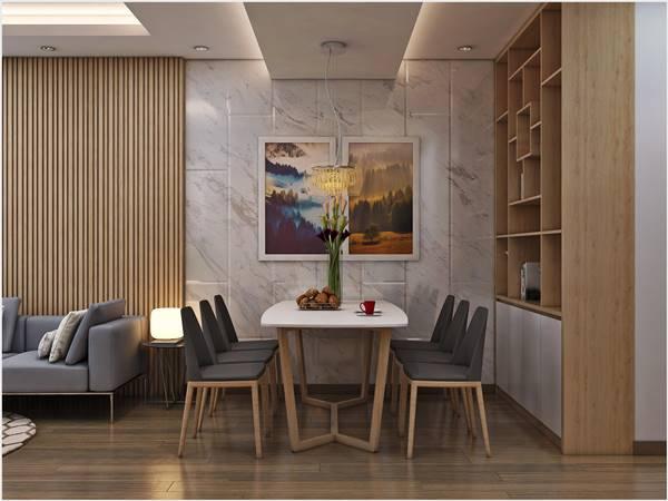 Thiết kế thi công nội thất trọn gói công trình nhà anh Quân Ecopark 2