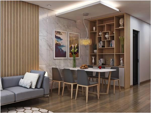 Thiết kế thi công nội thất trọn gói công trình nhà anh Quân Ecopark 9