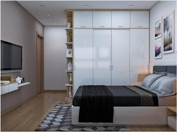 Thiết kế thi công nội thất trọn gói công trình nhà anh Quân Ecopark 5