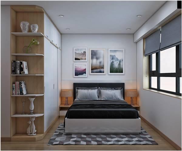 Phong thủy nội thất phòng ngủ với cách chọn tranh treo tường